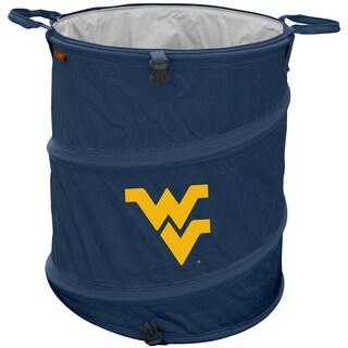 West Virginia University 'Mountaineers' Trash Can