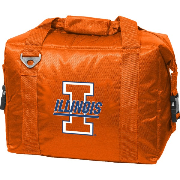 Illinois 'Fighting Illini' 12-pack Insulated Cooler Bag