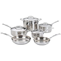Cuisinart Chef's Classic 10-piece Stainless Steel Cookware Set