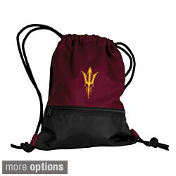 NCAA College Team Drawstring Polyester Backpack