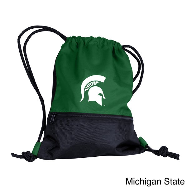NCAA College Team Drawstring Backpack