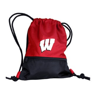 University of Wisconsin 'Badgers' Drawstring Backpack