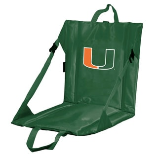 University of Miami 'Hurricanes' Lightweight Folding Stadium Seat
