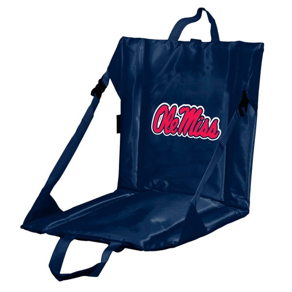 University of Mississippi 'Ole Miss' Lightweight Folding Stadium Seat