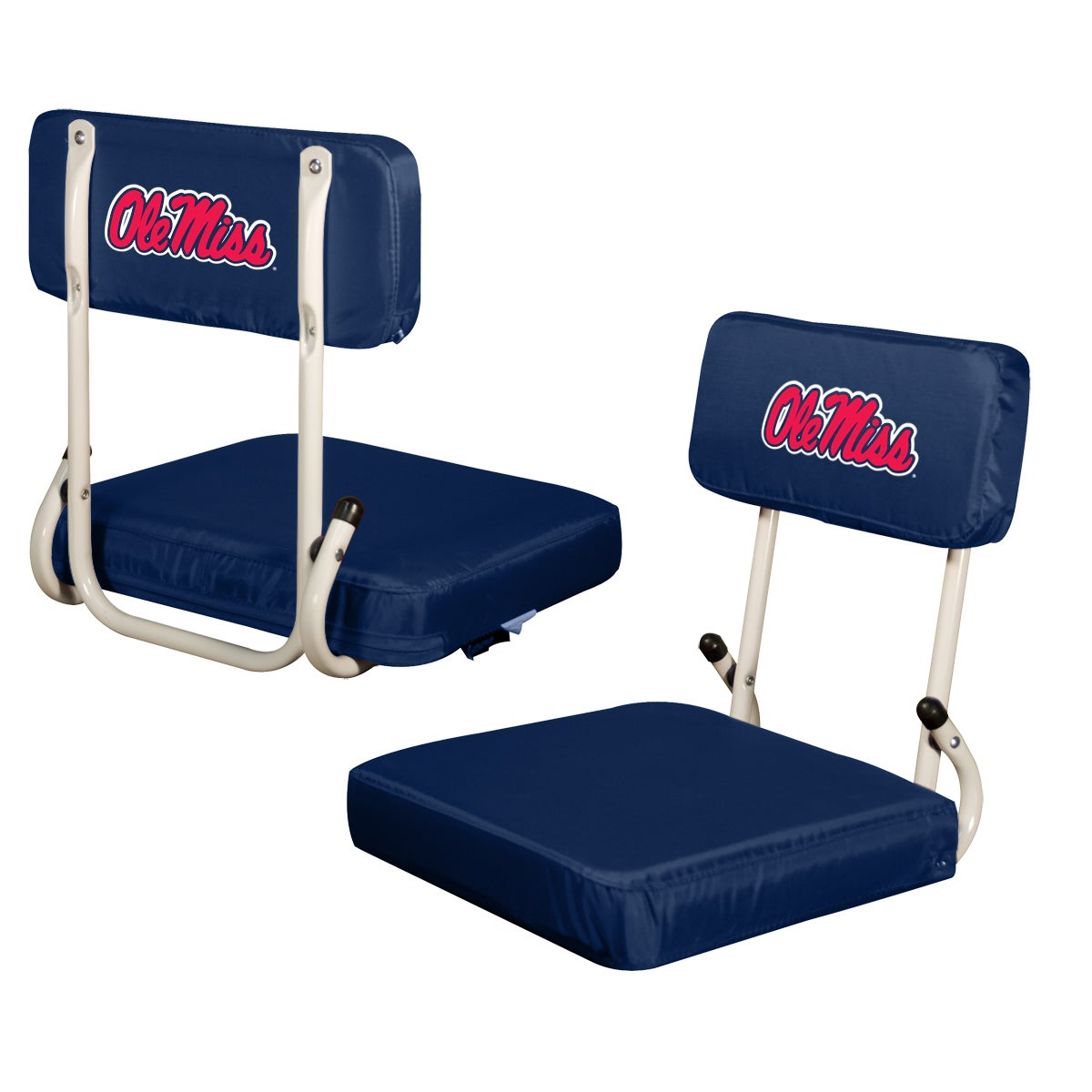 Overstock.com University of Mississippi 'Ole Miss' Hard Back Folding Stadium Seat at Sears.com