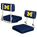 University of Michigan 'Wolverines' Hard Back Folding Stadium Seat