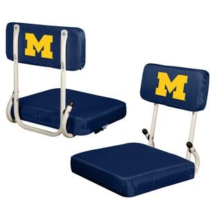 University of Michigan 'Wolverines' Hard Back Folding Stadium Seat