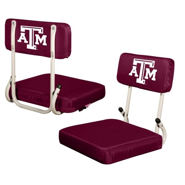 Texas A&M College-themed Hard Back Stadium Seat
