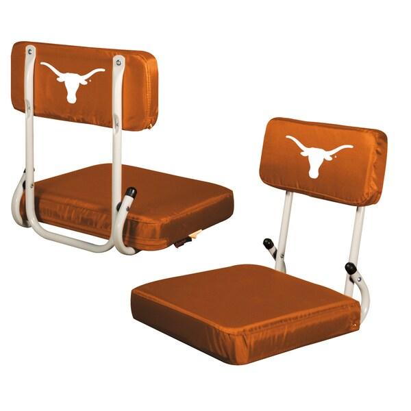 Texas College-themed Hard Back Stadium Seat