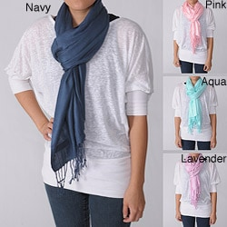 Journee Collection Womens Luxury Shawl