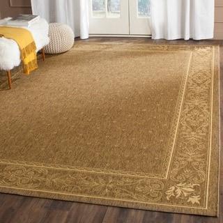 Safavieh Indoor/ Outdoor Summer Brown/ Natural Rug (2'7 x 5')