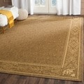Safavieh Indoor/ Outdoor Summer Brown/ Natural Rug (4' x 5'7)