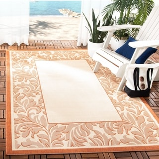 Safavieh Indoor/ Outdoor Paradise Brown/ Natural Rug (7'10 x 11')
