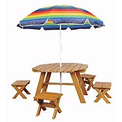 Children's Picnic Table Set