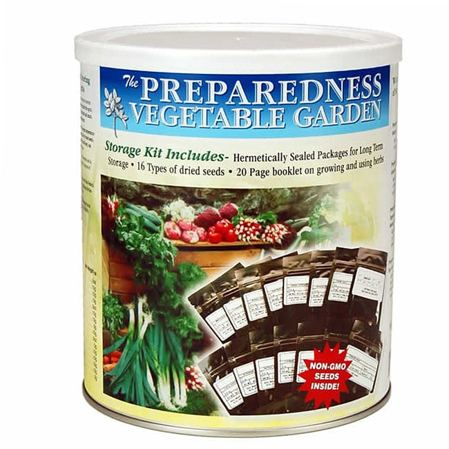 Food Storage Canned Vegetable Garden Seeds