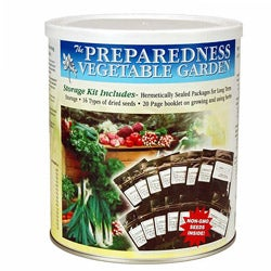 Food Storage Canned Vegetable Garden Seeds