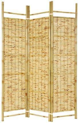 Burnt Bamboo Shoji Screen (China)