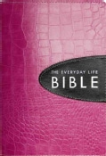 The Everyday Life Bible: Pink With Espresso Inset, Ampilified Version, Fashion Edition, The Power of God's Word f... (Hardcover)