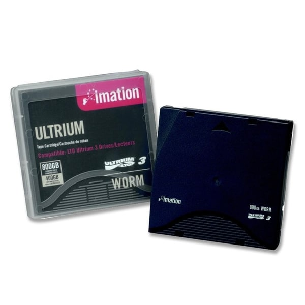 Imation LTO Ultrium 3 WORM Tape Cartridge with Case