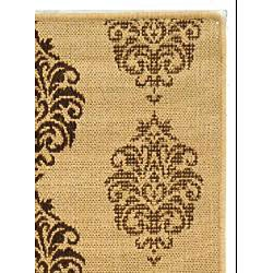 Safavieh Indoor/ Outdoor St. Martin Natural/ Brown Rug (2'7 x 5')