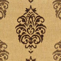 Safavieh Indoor/ Outdoor St. Martin Natural/ Brown Rug (2'7 x 5')
