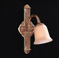 Olde Brass One-light Wall Sconce