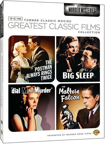 TCM Greatest Classic Films: Murder Mysteries (DVD)