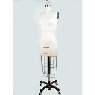 Size 8 Height-adjustable Professional Dress Form
