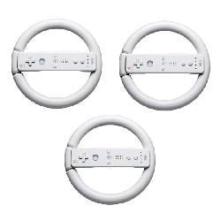 Steering Wheels for Nintendo Wii - 3 Pack