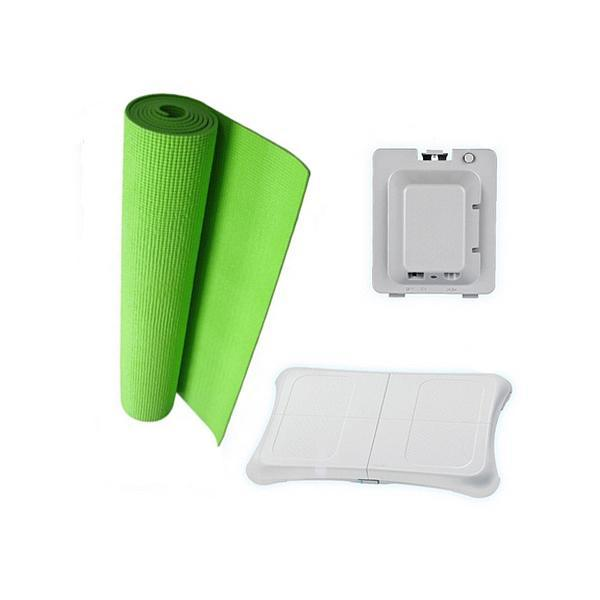 Green 3 in 1 Bundle For Nintendo Wii Fit