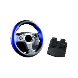 PS2 - 2 in 1 Racing Wheel