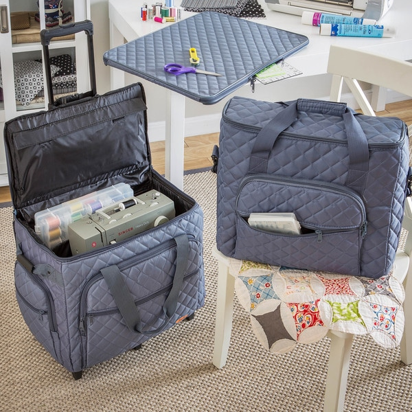 Hemline Extra Large 3-piece Embroidery Trolley Set