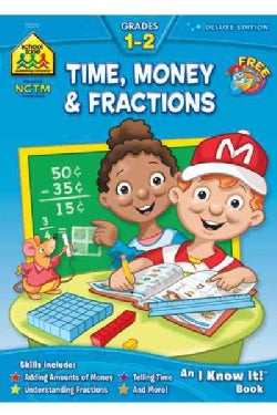 Time, Money & Fractions Grades 1-2 (Paperback)