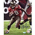 Warrick Dunn 8x10 Autographed Photo