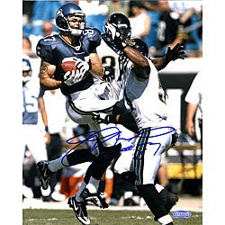 Joe Jurevicius Catch vs. Jaguars 8x10 Photograph