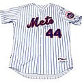 New York Mets Lastings Milledge Signed Authentic Home Pinstripe Jersey