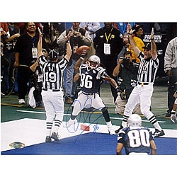 David Patten Super Bowl XXXVI Touchdown Catch Photo