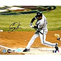 Scott Podsednik 2005 World Series Game 4 Triple 8x10 Autographed Photo
