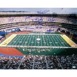Pittsburgh Steelers Greats Three Rivers Stadium Signed Photo