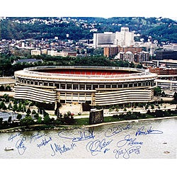 Pittsburgh Steelers 20x24 Three Rivers Stadium Photo
