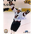 New Jersey Devils Peter Sykora 8x10-inch Scoring Goal Autographed Photo