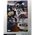 Simon Tabron Mountain Dew Signed 8x10 Biking Action Photograph
