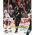 Chris Pronger Goal Celebration Autographed 8x10 Photograph