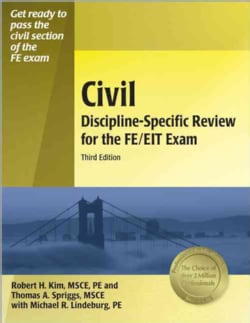 Civil Discipline-Specific Review for the FE/EIT Exam (Paperback)