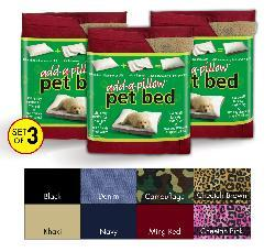 Add-a-pillow Pet Bed (Pack of 3)