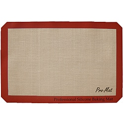 Professional-grade Silicone 11x16.65-inch Baking Mat
