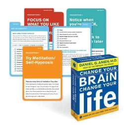 Change Your Brain, Change Your Life: Breakthrough Brain Prescriptions for Learning to Relax, Letting Go, Helping You ... (Cards)