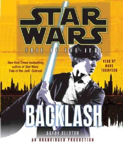 Star Wars: Fate of the Jedi: Backlash (CD-Audio)