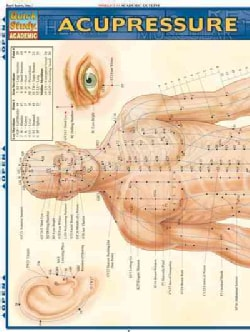 Acupressure Laminated Reference Guide (Wallchart)