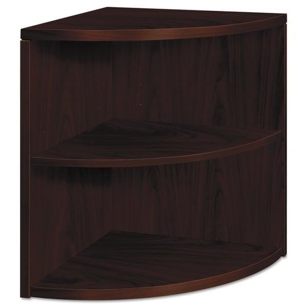 HON 10500 Series 2-Shelf Bookcase - Mahogany